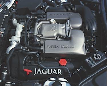 jaguar v8 service supercharged