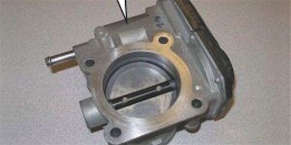 infiniti dirty throttle valve