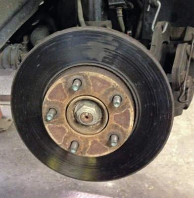 Damaged Rotor