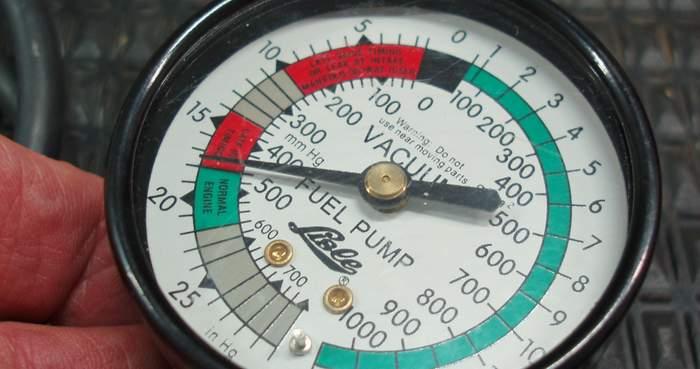 modern engine speed density test