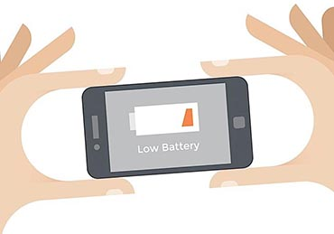 Low Battery Cell Phone