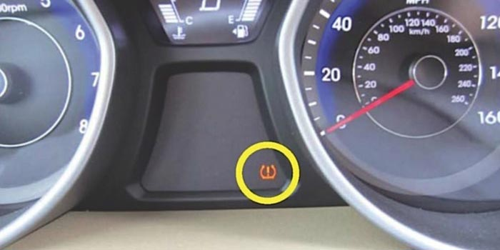 KIA TPMS light interference electrical