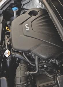 Kia Rio GDi engine