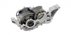 GKN Driveline has developed a two-speed eAxle, which delivers electric power throughout the vehicle's entire speed range, optimized for weight, packaging and efficiency. The two-speed eAxle supports effective hybridization, contributing to an outstanding driving experience.