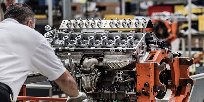 Production Of Aston Martin S V12 Db11 Engine Begins