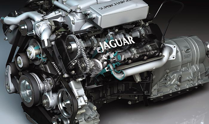 Jaguar 4 0-Liter And 4 2-Liter V8 Engine Service