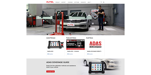 Autel Introduces MaxiSys ADAS Calibration Tool