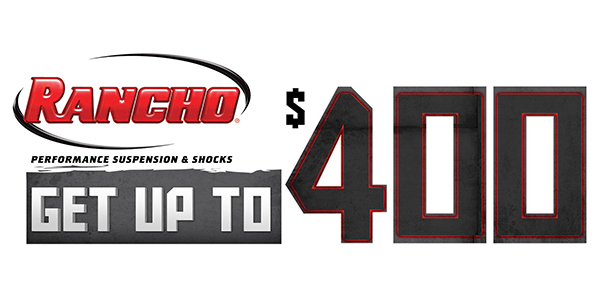 Mail In Rebate Offers >> New Rancho Promotion Offers Up To 400 Mail In Rebate For