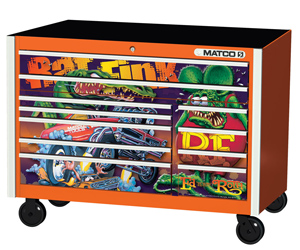 Matco Tools Offering Limited Edition Rat Fink Toolboxes